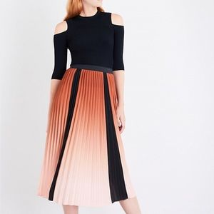 "Maje ""Javany"" pleated skirt NWOT"